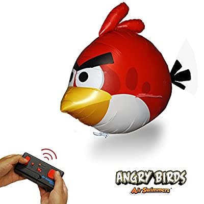 Angry Birds Air Swimmers Turbo - RED Flying Remote Control Balloon Toy