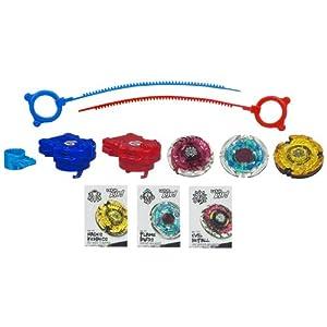 Amazon.com: Beyblade Bey Team Star Breaker Pack: Toys & Games