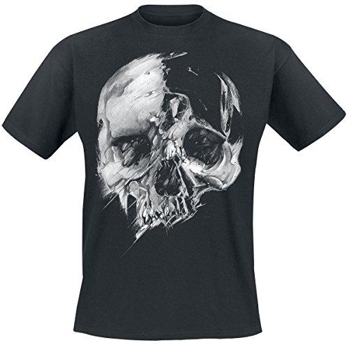 Fading Skull T-Shirt nero S