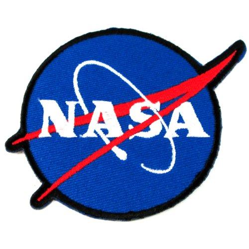 1 X NASA Logos Iron on Patches | ToolFanatic.com