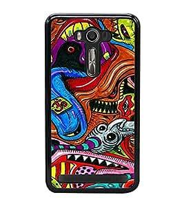 ifasho Designer Phone Back Case Cover Asus Zenfone Selfie ZD551KL ( Friendship Quotes Happy Friendship )