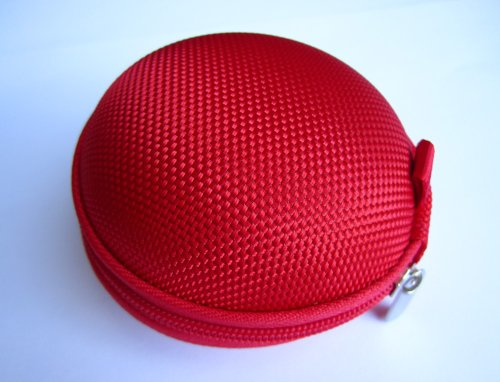 Red Case For Plantronics Backbeat Go , Marque 2 M165 , Marque M155 , M55 M50 M28 M25 M24 M20 , Savor M1100 , M100 Mx100 , Discovery 975 925 Wireless Bluetooth Headset M-165 M-155 M-55 M-50 M-28 M-25 M-24 M-20 M-1100 M-100 Mx-100 Bag Holder Pouch Hold Box