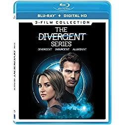 The Divergent Series (3-Film Collection) [Blu-ray]