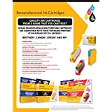 KODAK Remanufactured Ink Cartridge Combo Pack Compatible With Epson T126 / 126 (T126120-D2) High-Yield 2 Black Cartridges