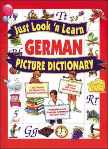 Just Look 'N Learn German Picture Dictionary front-1062405