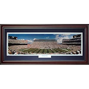 Penn State University Nittany Lions (30 Yard Line) Deluxe Framed Panoramic Photo by PalmBeachAutographs.com