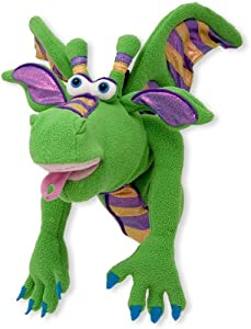 WMU Smoulder the Dragon Puppet