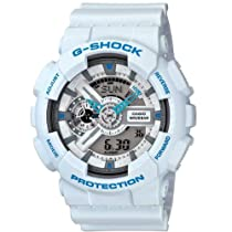 Casio G-Shock White Mens Watch GA110SN-7A