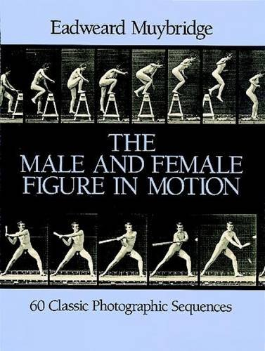 The Male and Female Figure in Motion: 60 Classic Photographic Sequences (Dover Anatomy for Artists) (Human Figure In Motion compare prices)