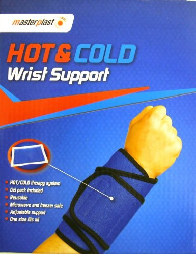HOT AND COLD COMPRESS WRIST SUPPORT THERAPY SYSTEM