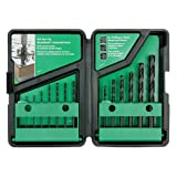Hitachi 728080 14-Piece Black Gold Drill Bit Set