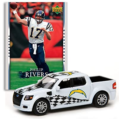 San Diego Chargers - Philip Rivers 2007 Upper Deck Collectibles NFL Ford SVT Adrenalin Concept with Card