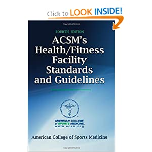 ACSM's Health/Fitness Facility Standards and Guidelines-4th Edition online