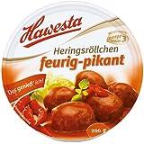 Hawesta Heringsröllchen feurig, 4er Pack (4 x 200 g)