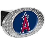 MLB Los Angeles Angels Metal Diamond Plate Trailer Hitch Cover at Amazon.com