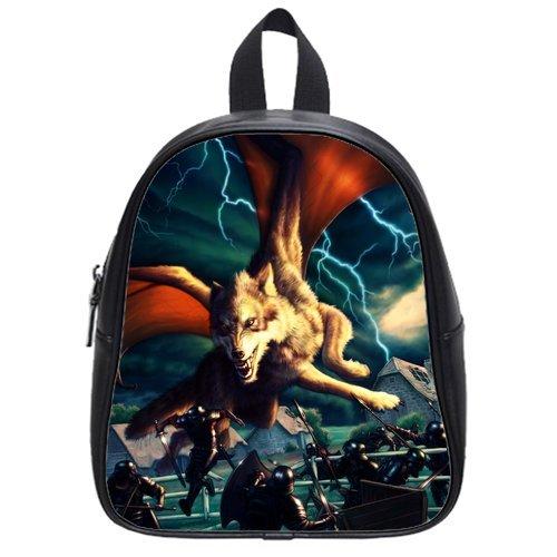 Monster Dragon High-Grade Pu Leather School Bag/Backpack(Big) front-228497