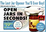 As Seen On TV! NEW One Touch Jar Opener Automatic