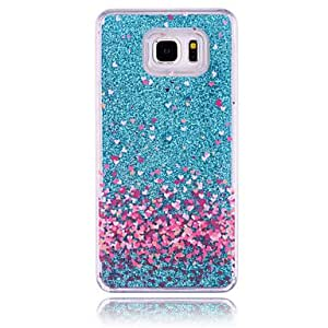 Love Pattern PC Stereoscopic Star Quicksand Phone Case for Samsung Galaxy Note4 (Assorted Colors) #04748468