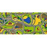 Associated Weavers - Alfombra diseño tráfico (140 x 200 cm) [Importado de Alemania]