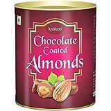 Justázoo Premium Chocolate Coated Almonds | Gift Pack Chocolates Almonds | Roasted Almond Chocolates, | Roasted...