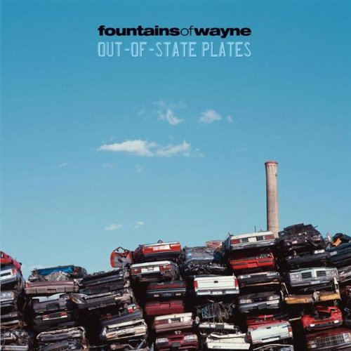 Original album cover of Out-Of-State Plates by Fountains of Wayne