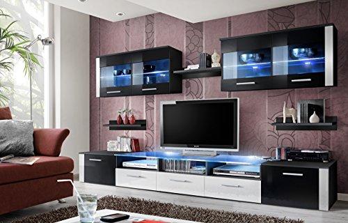 BMF Zoom Modern Hochglanz WohnzimmerSchlafzimmerStudio Flach