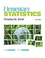 Elementary Statistics: Picturing the World, 5th Edition Front Cover