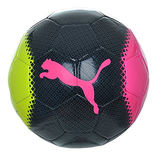 Pallone da calcio PUMA ultima 6,3 Trainer MS, rosa Glo/safety Yellow/Black/trucchi, 5, 082563 10