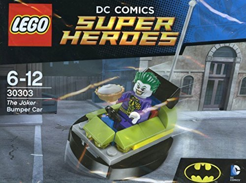 LEGO, DC Super Heroes, The Joker Bumper Car (30303) Bagged