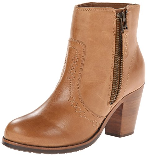 Women's Ariat 'Baja' Leather Ankle Boot, Size 11 B - Beige