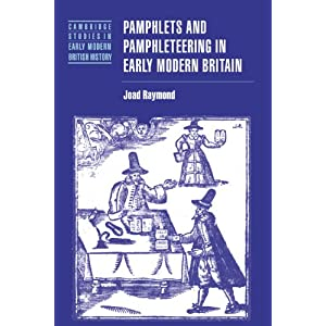 Amazon.com: Pamphlets and Pamphleteering in Early Modern Britain ...
