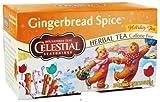 Celestial Seasonings - Gingerbread Spice Holiday Herb Tea Caffeine Free - 20 Tea Bags
