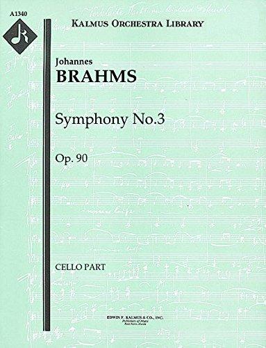 Symphony No.3, Op.90: Cello part (Qty 2) [A1340] (Gal Symphonies compare prices)