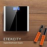 Etekcity-Digitale-Personenwaage-aus-Sicherheitsglas-Slim-Design