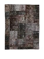 Eden Carpets Alfombra Pacthwork Gris Oscuro/Multicolor 197 x 150 cm