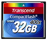 Transcend 32 GB Compact Flash Card 400X (Blue)