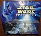 Star Wars Episode 1 Micro Machines Collection VI Battle Droids
