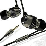 V-MODA Vibe In-Ear Noise-Isolating Metal Headphone (Gunmetal Black) ~ V-Moda