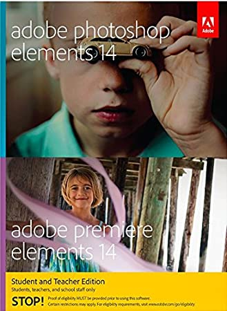 Adobe Photoshop Elements & Premiere Elements 14 Student and Teacher Edition [Download]