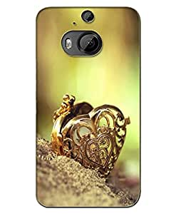 AT Shopping 3d Htc One M9 Plus Back Cover Designer Hard Case Printed Mobile Cover