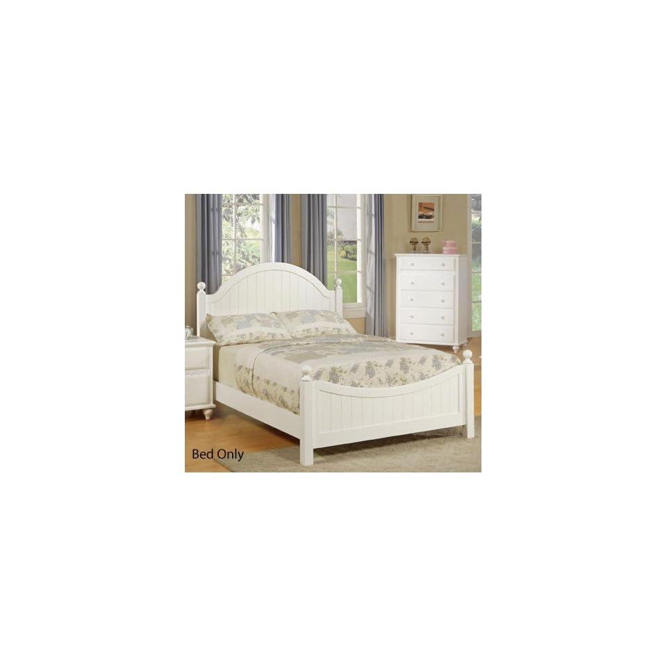 85b4844e9eb5 4pcs Full Size Bedroom Set Cape Cod Style White Finish on PopScreen