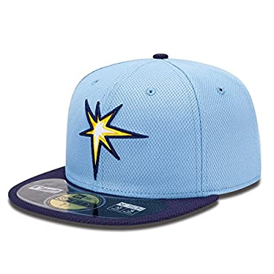 Tampa Bay Rays 59Fifty Authentic Collection Diamond Era Fitted Alternate MLB Baseball Cap