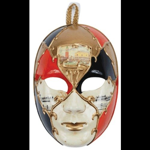 Orange Female Venetian Mask Masquerade Ball Adult Halloween Costume Mardi Gras (Day Of The Dead Female Makeup Kit)