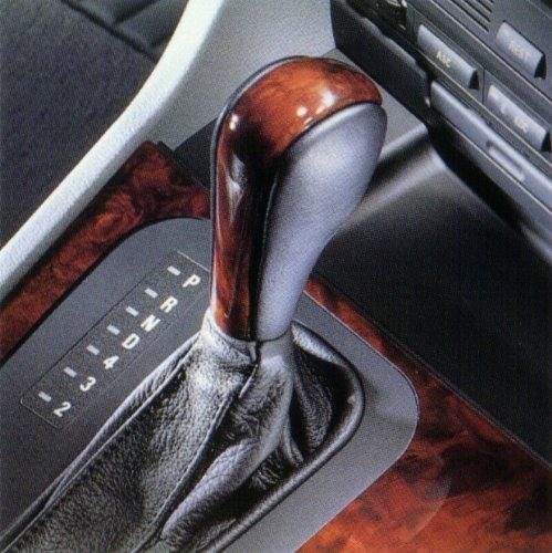 BMW Genuine Leather Wood Shift Knob Automatic E39 5 Series (Bmw Wood Shift Knob compare prices)