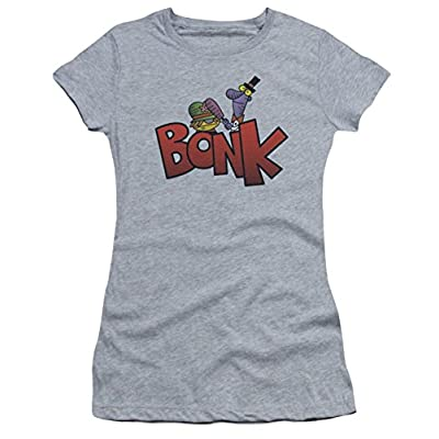 Dexter's Laboratory Bonk Ladies Junior Fit T-Shirt