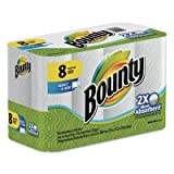 Select-a-Size Perforated Roll Towels, 2-Ply, White, 6 x 11, 8 Rolls