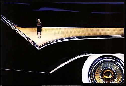 Classics De Soto 1959 by Kenneth Gregg Double Sided Laminate, 18 x 12 inches (Classic Car Soto compare prices)