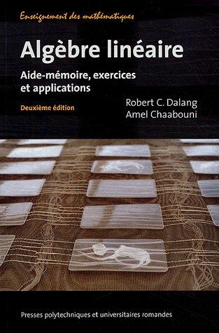 Livre > Intoduction à l'algèbre linéaire et à ses applications