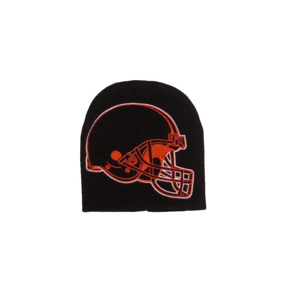 6073919e78af5a NFL Cleveland Browns Large Hype Hyper Logo Knit Beanie Cap Toque Winter Hat