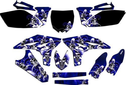 -Blue 1996-2001 AMR Racing P40 Warhawk-AMRRACING MX Graphics Decal kit fits Yamaha YZ 125//250